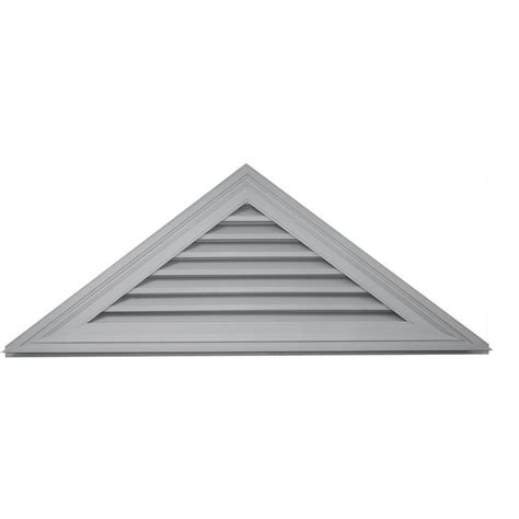 Triangular Gable Shop Builders Edge 61 8 In X 23 1 In Paintable Triangle