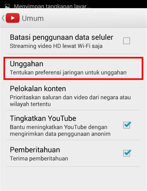 cara upload video di youtube android cara mengatasi ditangguhkan saat upload video youtube via