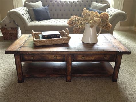 diy coffee table white plans for the home