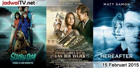 jadwal main film baper rcti jadwal film dan sepakbola 15 februari 2015 jadwal tv