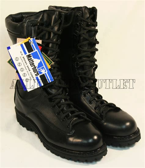 matterhorn boots waterproof matterhorn issue leather combat