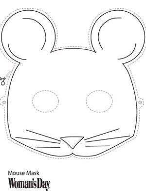 mouse mask template printable mouse mask birthdays my friend and costumes