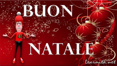 merry christmas  italian language