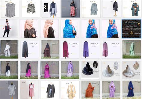 Pusat Busana Muslim supplier grosir baju muslim gamis syar i alaidrous
