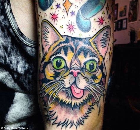 cat tattoos are new breed of inkings for those feline like