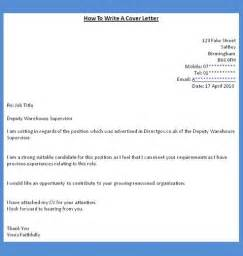 Writing A Covering Letter For A by How To Get A How To Write A Cover Letter