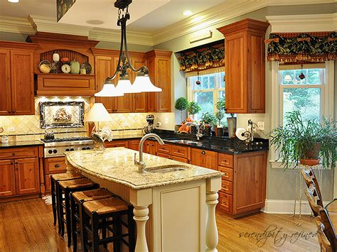 paint and barn board cabinetry in a beautifully classic kitchen design with white painted kitchen island