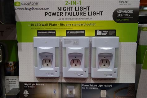costco deal capstone 2 in 1 light power failure