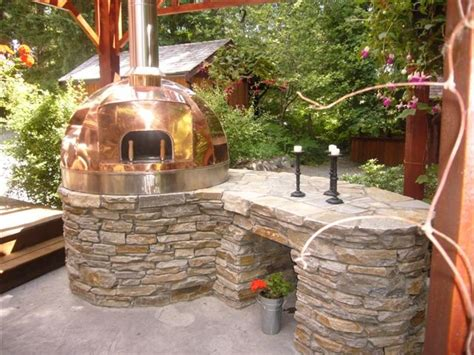 Images Of Outdoor Kitchens le panyol copper turnkey oven for the home pinterest