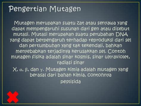 bio fisika adalah ppt biologi mutagen