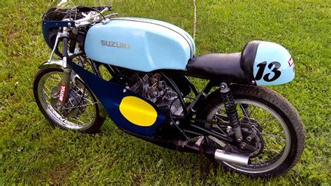 Suzuki Bike Racing Free Suzuki Tr250 Race Bike Walkaround