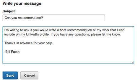 5 Best Practices For Requesting Linkedin Recommendations Day Request Email Template