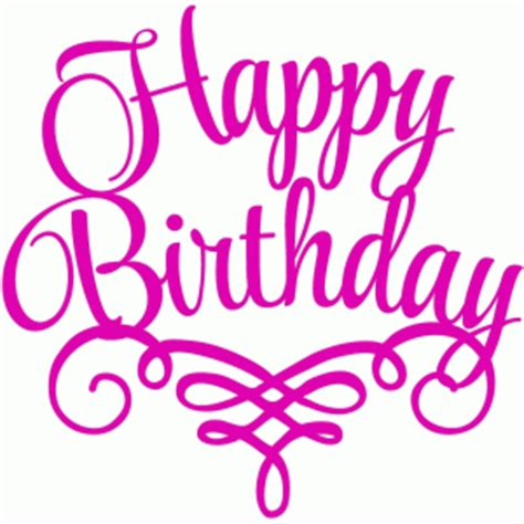 happy birthday to me design happy birthday font letter design clipart best