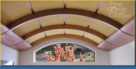 How To Make A Curved Ceiling by Home Craft