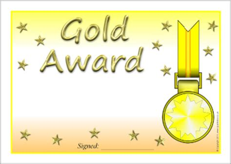 gold medal certificate template image gallery editable awards