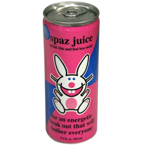 number 1 energy drink happy bunny spaz juice energy drink 8 4 fl oz
