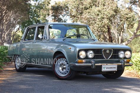 alfa romeo sedan sold alfa romeo berlina 2000 sedan auctions lot 4