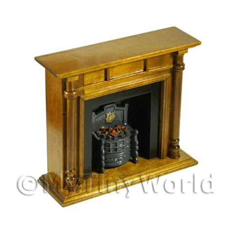 dolls house fireplaces dolls house miniature furniture value dolls house miniature brown wooden fireplace