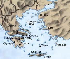 Troy Greece Map by Gallery For Gt Map Of Greece With Troy