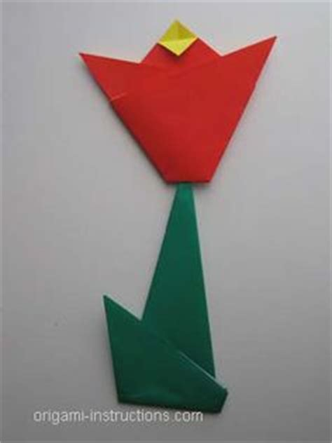 Easy Tulip Origami - origami on easy origami origami and origami