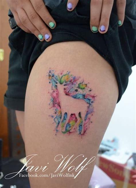 reverse tattoo maker watercolor tattoo kind of a quot reverse quot watercolor tattoo