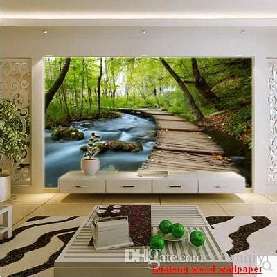 customized large  mural art wallpaper home decor