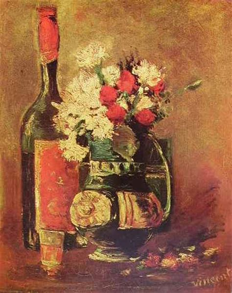 dipinti di vasi con fiori natura morta con vaso di fiori di gogh