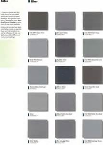 silver color code grey color chart code