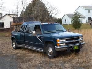 Used Chevrolet Silverado 3500 Diesel For Sale Find Used 1998 Chevy 3500 Turbo Diesel Dually Crewcab In
