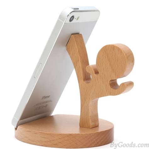 Practical Gift Cute Wood Horse Mobile Phone Holder   Unique Christmas Gifts   Gifts  ByGoods.Com