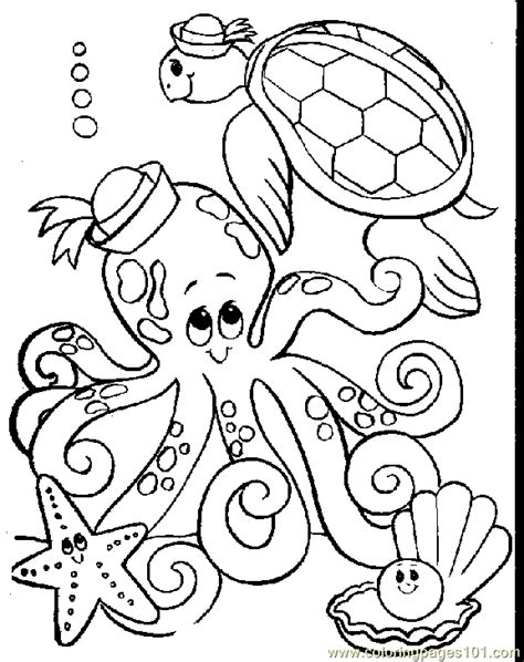 coloring page octopus octopus coloring pages coloring pages