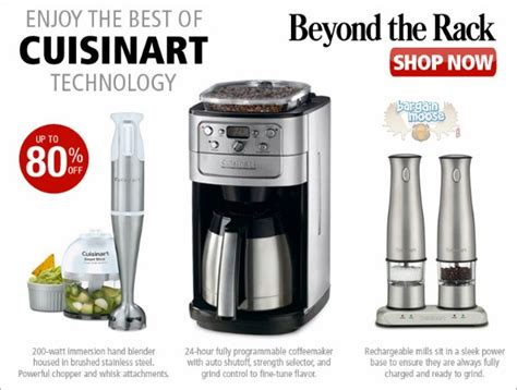 Beyond The Rack Canada by Cuisinart Coupons Sales Bargainmoose Canada