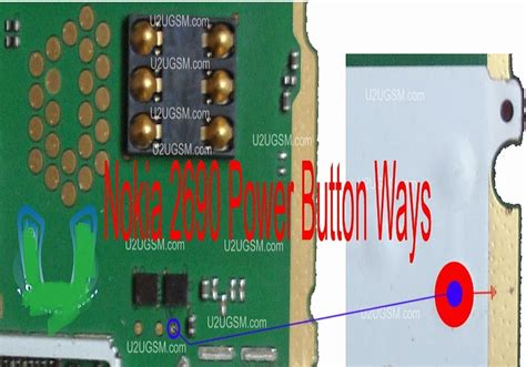 genius flasher nokia  power button   problem