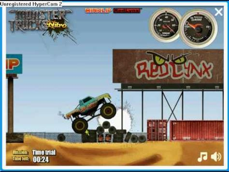 monster trucks nitro miniclip on the run miniclip doovi