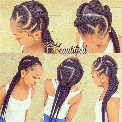 braided hairstyles for ages 4 6 cornrows hairstyle