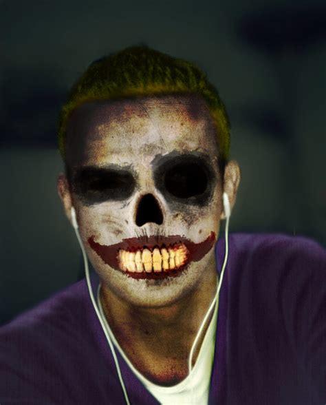 Joker Skull Face 2 By Onra On Deviantart Drawings Of Joker Faces 2