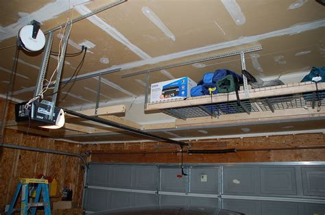 the garage door storage