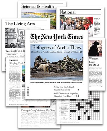 the new york times large print