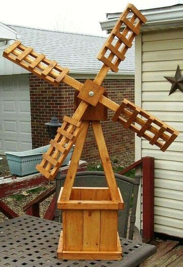 windmill planter   windmill diy woodworking