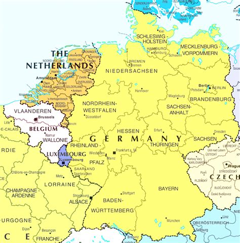 map of germany and belgium with cities belgium germany map frtka