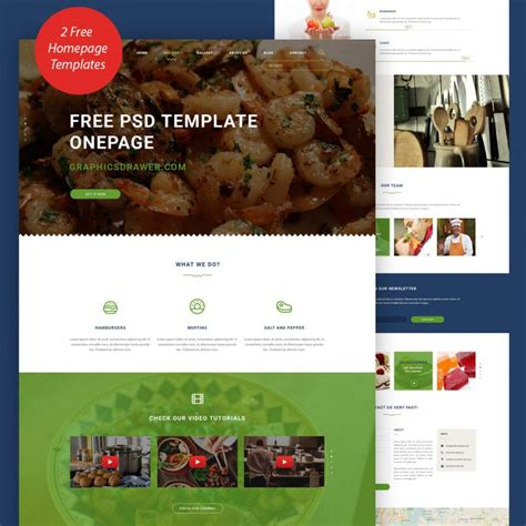 Free Cooking Blog Website Template Free Psd At Freepsd Cc Free Cooking Website Templates
