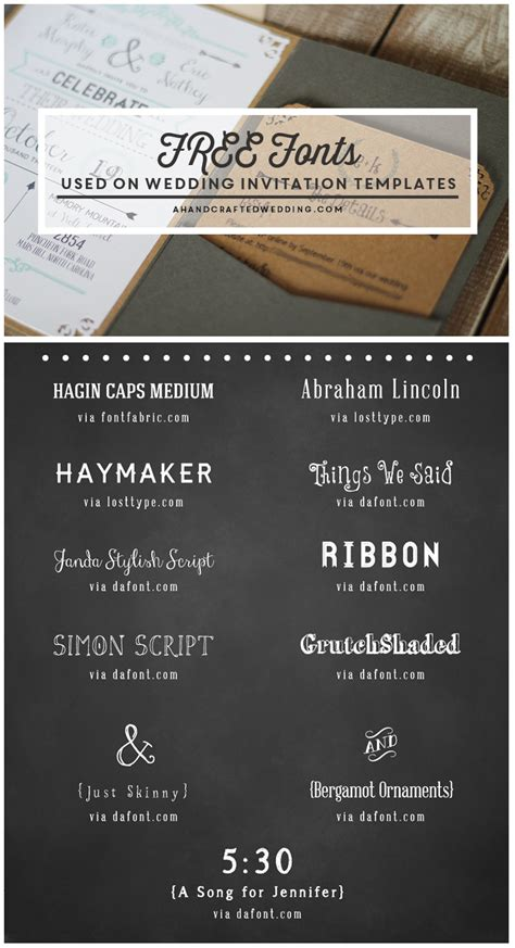 free printable rustic fonts free fonts to use on rustic or vintage inspired wedding