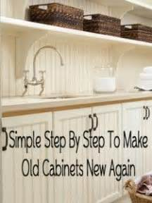 how to make kitchen cabinets look new again how to make kitchen cabinets look new again step by step