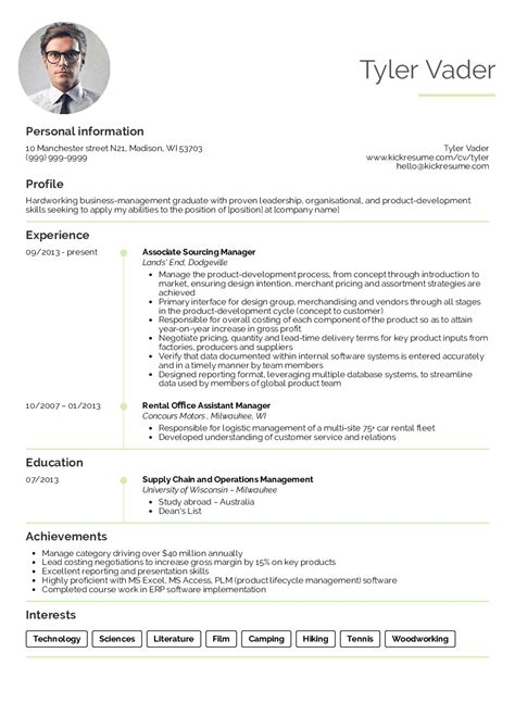 Business Management Resume by Resume Exles By Real Business Management