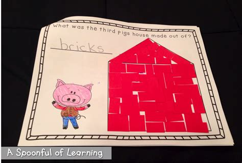 Zoetoys 3d Book Three Pig a spoonful of learning three pigs