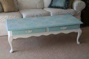 For the love of white chalk paint coffee table project