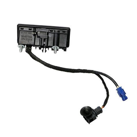 oem rgb rear view camera  wire harness set  vw rcd rns rns backup ebay