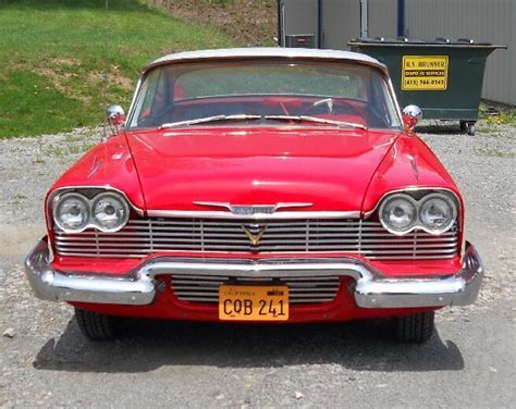 plymouth belvedere hardtop christine  clone car