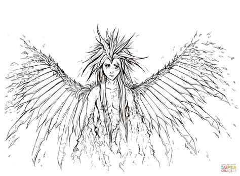 angel wings coloring pages to print coloring home