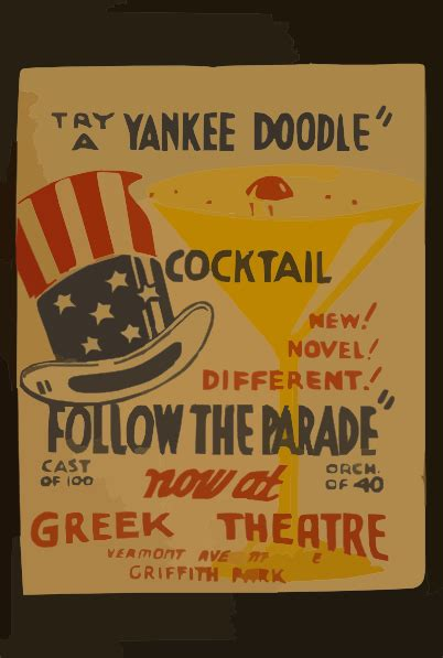 yankee doodle royalty free try a yankee doodle cocktail new novel different